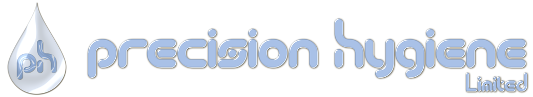 The logo of Precision Hygiene, suppliers to the catering and hospitality industry.